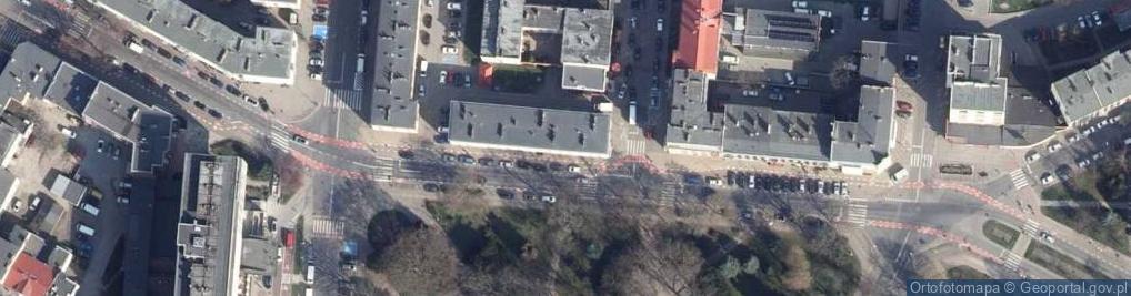 Zdjęcie satelitarne Park 18 Marca park.