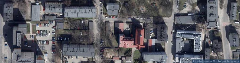 Zdjęcie satelitarne Pasterska ul.