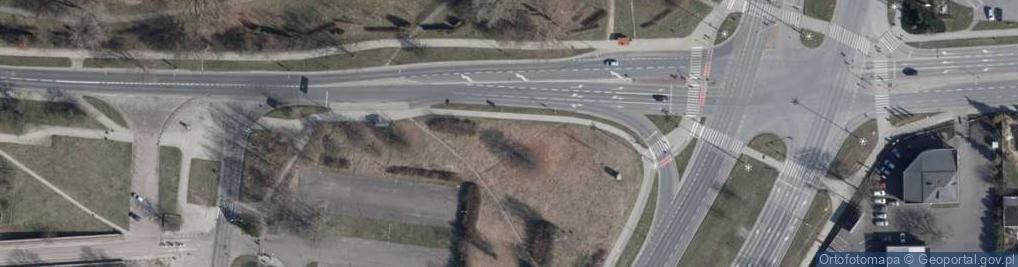 Zdjęcie satelitarne Paradna ul.