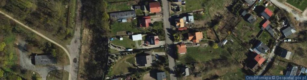 Zdjęcie satelitarne Parkowa-Osiedle ul.
