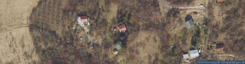 Zdjęcie satelitarne Pawia ul.