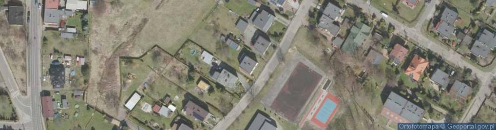 Zdjęcie satelitarne Pakuły Alberta ul.
