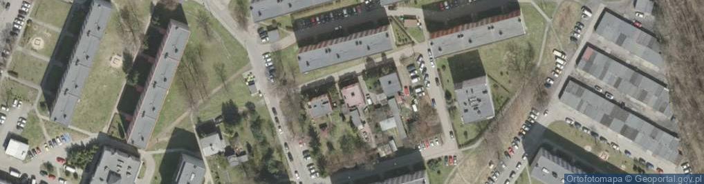 Zdjęcie satelitarne Parandowskiego Jana ul.