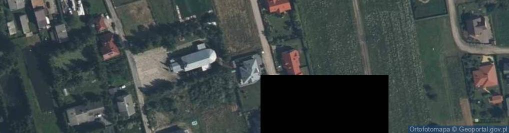 Zdjęcie satelitarne Pastelowa ul.