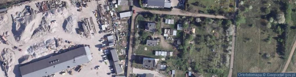 Zdjęcie satelitarne Palmowa ul.