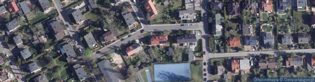 Zdjęcie satelitarne Pałucka ul.