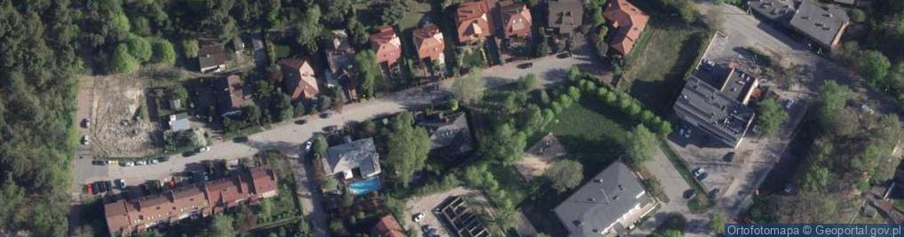 Zdjęcie satelitarne Pana Tadeusza ul.