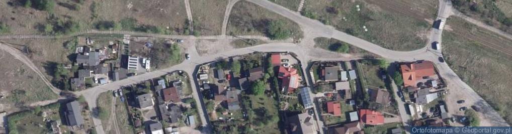 Zdjęcie satelitarne Pancernych ul.