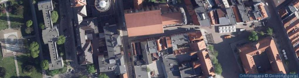 Zdjęcie satelitarne Panny Marii ul.