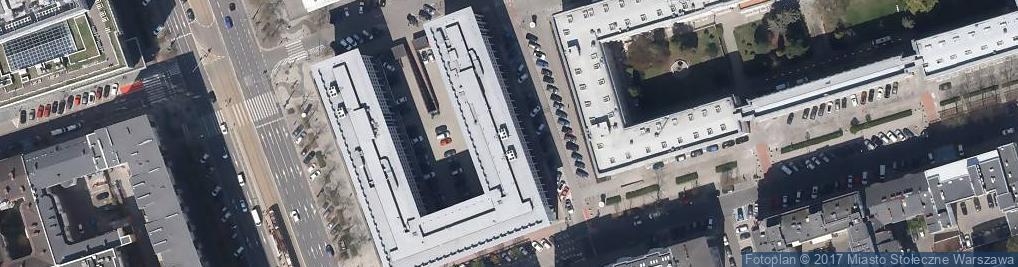 Zdjęcie satelitarne Parkingowa ul.
