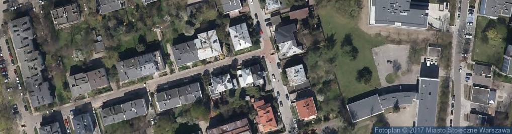 Zdjęcie satelitarne Padewska ul.