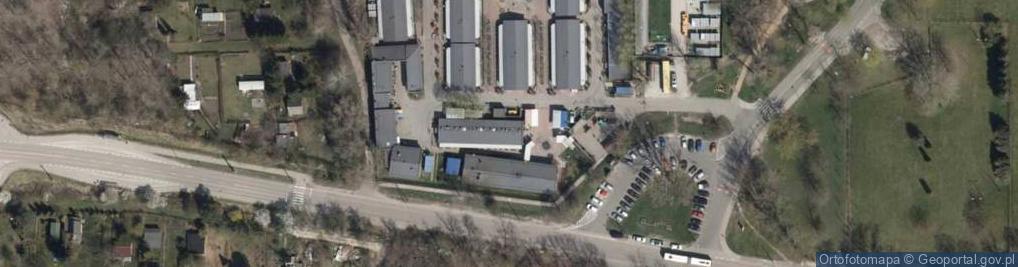 Zdjęcie satelitarne Paluch ul.