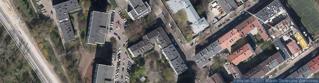 Zdjęcie satelitarne Panieńska ul.