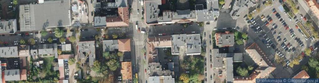 Zdjęcie satelitarne Padlewskiego Zygmunta, gen. ul.