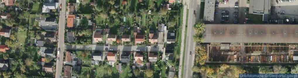 Zdjęcie satelitarne Pani Twardowskiej ul.