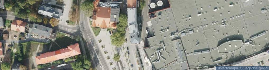 Zdjęcie satelitarne Park Hutniczy park.
