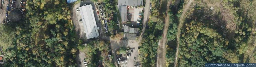 Zdjęcie satelitarne Pawliczka Alojzego ul.