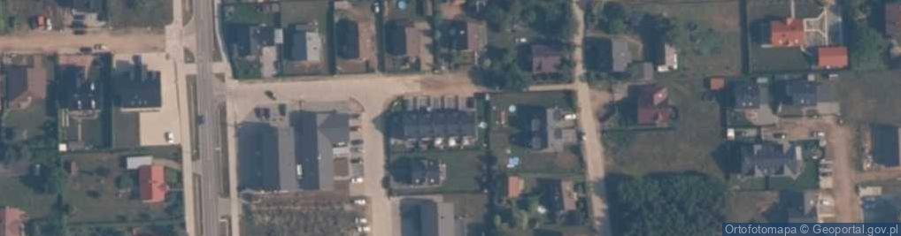 Zdjęcie satelitarne Perłowa ul.