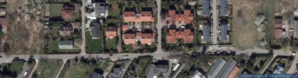 Zdjęcie satelitarne Perlicza ul.
