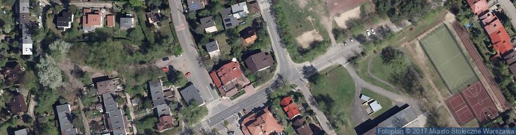 Zdjęcie satelitarne Petunii ul.