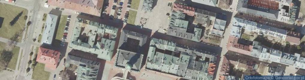 Zdjęcie satelitarne Pereca ul.