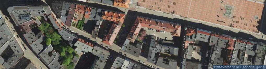 Zdjęcie satelitarne Piastów Bytomskich ul.