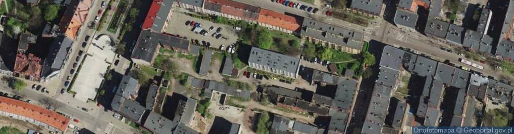 Zdjęcie satelitarne Piekarska ul.