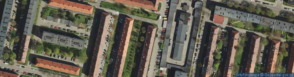 Zdjęcie satelitarne Pilotów ul.