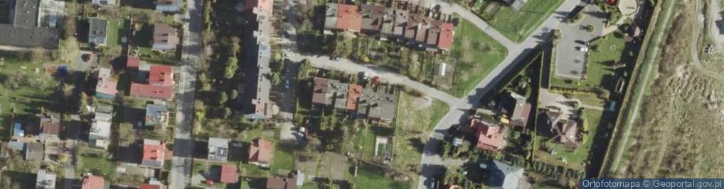Zdjęcie satelitarne Piękna ul.