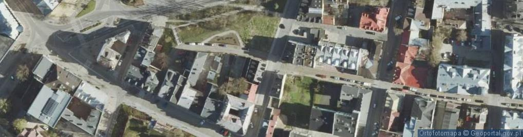 Zdjęcie satelitarne Pijarska ul.