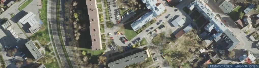 Zdjęcie satelitarne Pilarskiego Mariana ul.