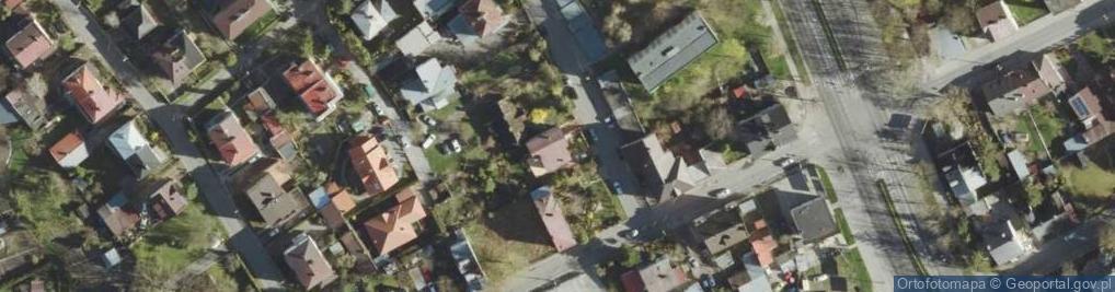 Zdjęcie satelitarne Piramowicza Grzegorza ul.