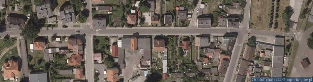 Zdjęcie satelitarne Pileckiego Witolda, rtm. ul.