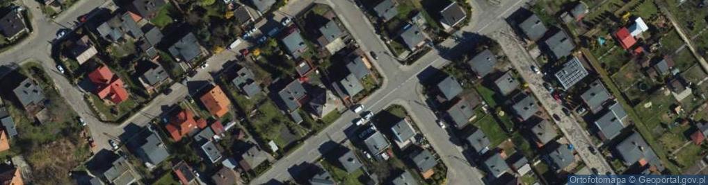 Zdjęcie satelitarne Pietrusińskiego ul.