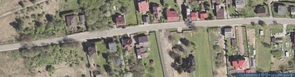 Zdjęcie satelitarne Pionierów ul.