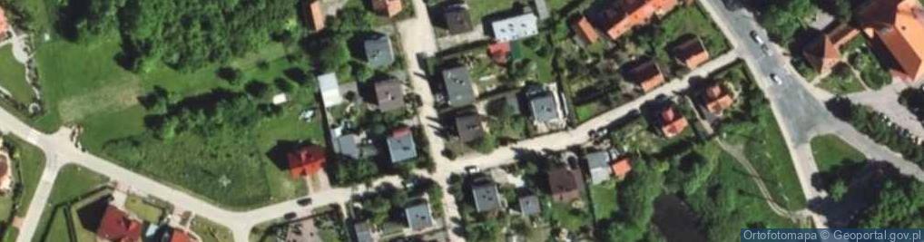 Zdjęcie satelitarne Pieniężnego Seweryna ul.