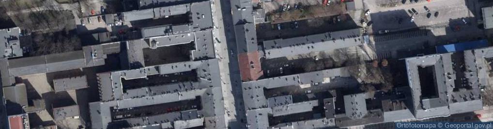 Zdjęcie satelitarne Piotrkowska ul.
