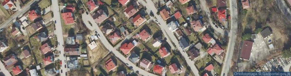 Zdjęcie satelitarne Piasta Kołodzieja ul.