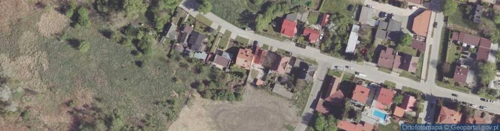 Zdjęcie satelitarne Piotrówka ul.