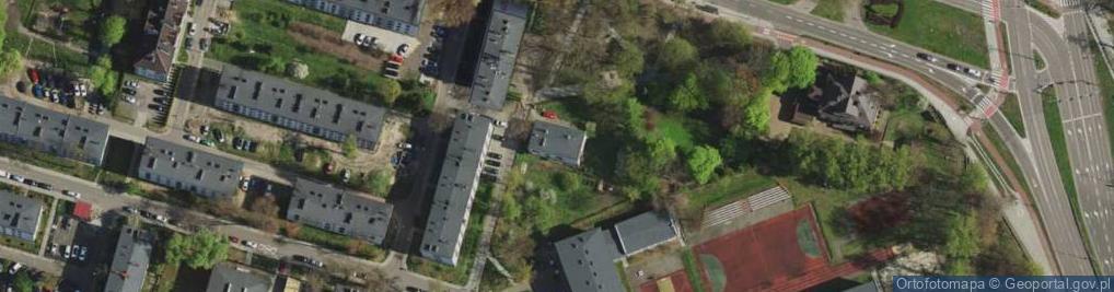 Zdjęcie satelitarne Piwnika-Ponurego Jana, mjr. ul.