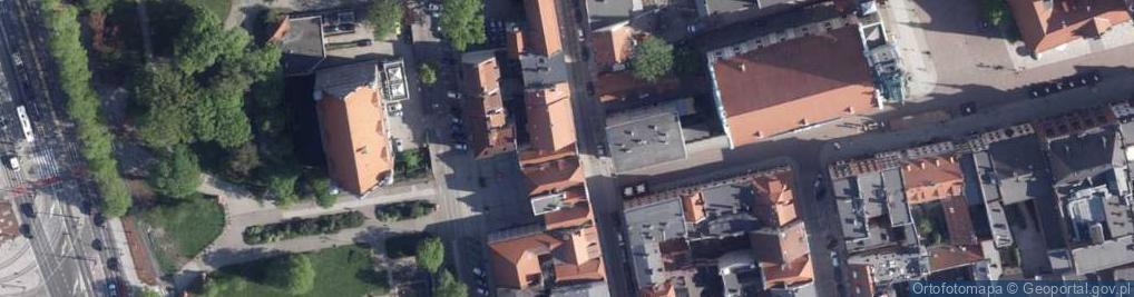 Zdjęcie satelitarne Piekary ul.