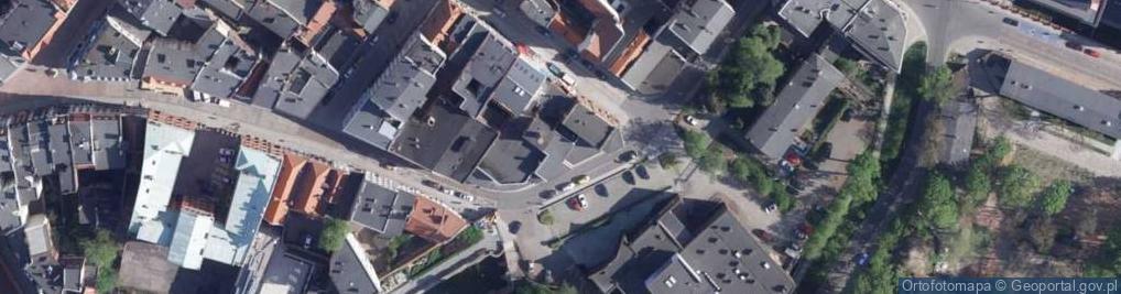 Zdjęcie satelitarne Piernikarska ul.