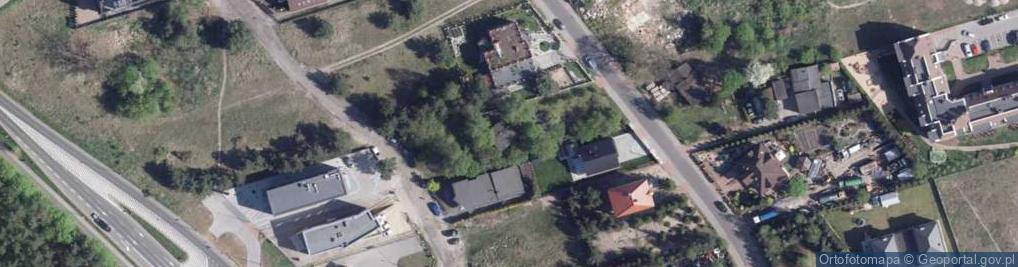 Zdjęcie satelitarne Pigwowa ul.