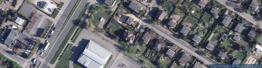 Zdjęcie satelitarne Pilska ul.