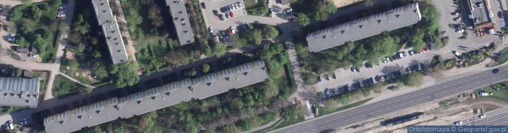 Zdjęcie satelitarne Piskorskiej Heleny ul.