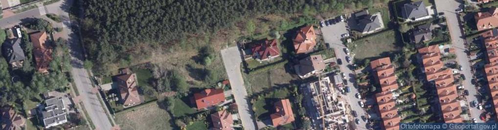 Zdjęcie satelitarne Pistacjowa ul.