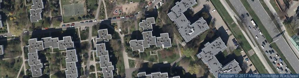 Zdjęcie satelitarne Piekałkiewicza Jana ul.