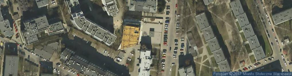 Zdjęcie satelitarne Piaseczyńska ul.