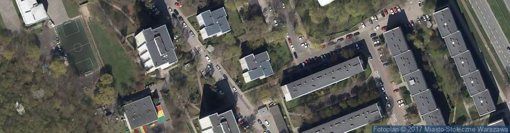 Zdjęcie satelitarne Piwarskiego Jana Feliksa ul.