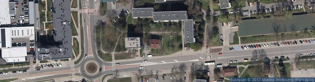 Zdjęcie satelitarne Pięciolinii ul.